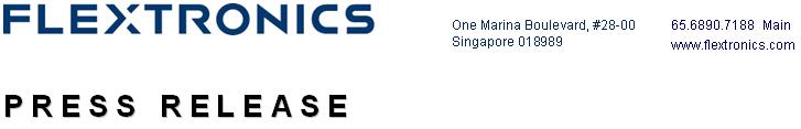 flextronics international ltd Flex / flextronics international ltd / henderson group plc - re-filing under new janus henderson group plc post merger (passive investment) 2018-02-13 secgov united states securities and exchange commission washington, dc 20549 schedule 13g under the securities exchange act of 1934 amendment no: 0 name of issuer: flex ltd.