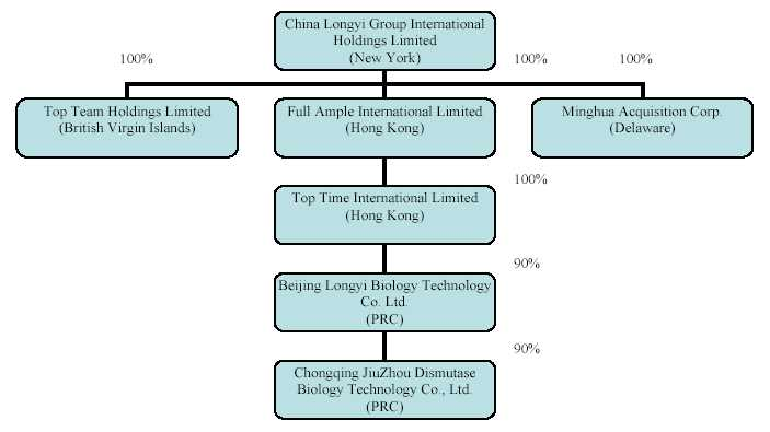 Organization structure of reliance industries