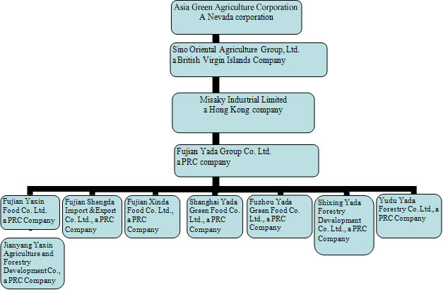 Organizational Structure of Walmart http://www.faqs.org/sec-filings/110523/SMSA-Palestine-Acquistion-Corp_10-K.A/