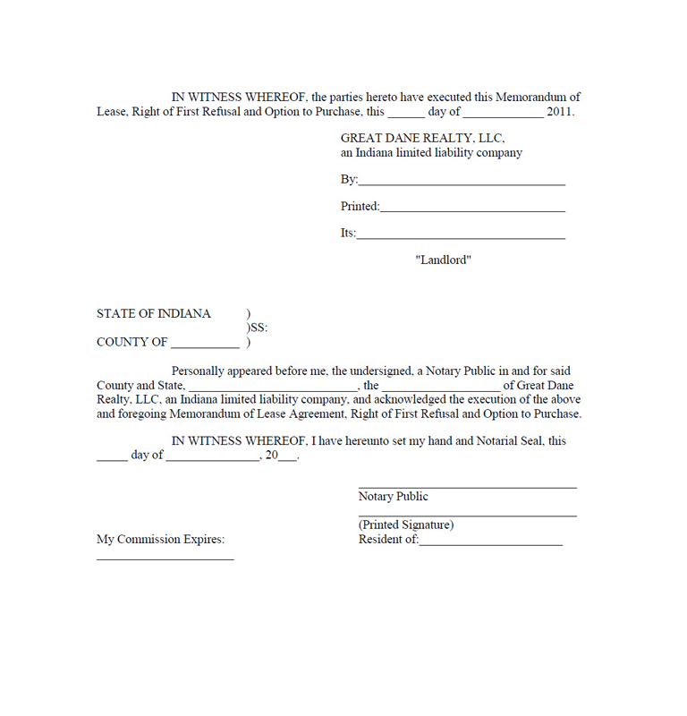 Vera Bradley, Inc. - FORM 10-Q - EX-10.4 - LEASE AGREEMENT, DATED ...