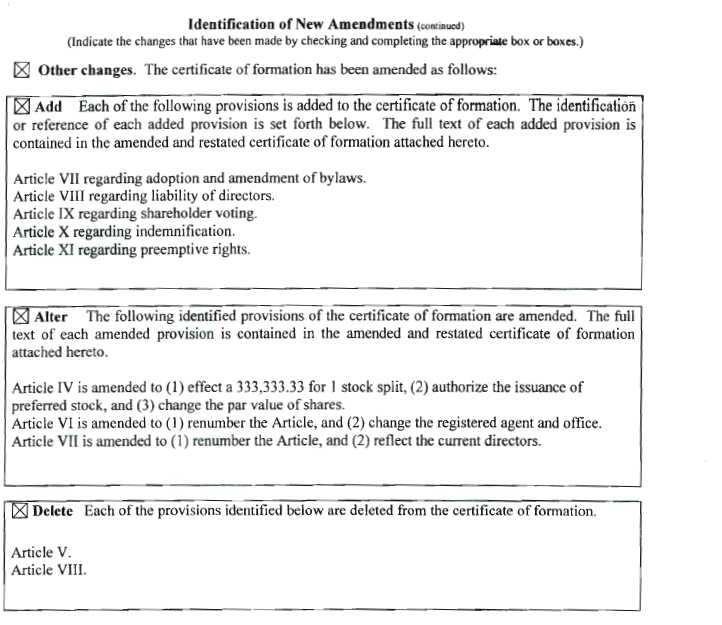 NightCulture, Inc. - FORM 8-K - EX-3.1 - AMENDED AND RESTATED ...