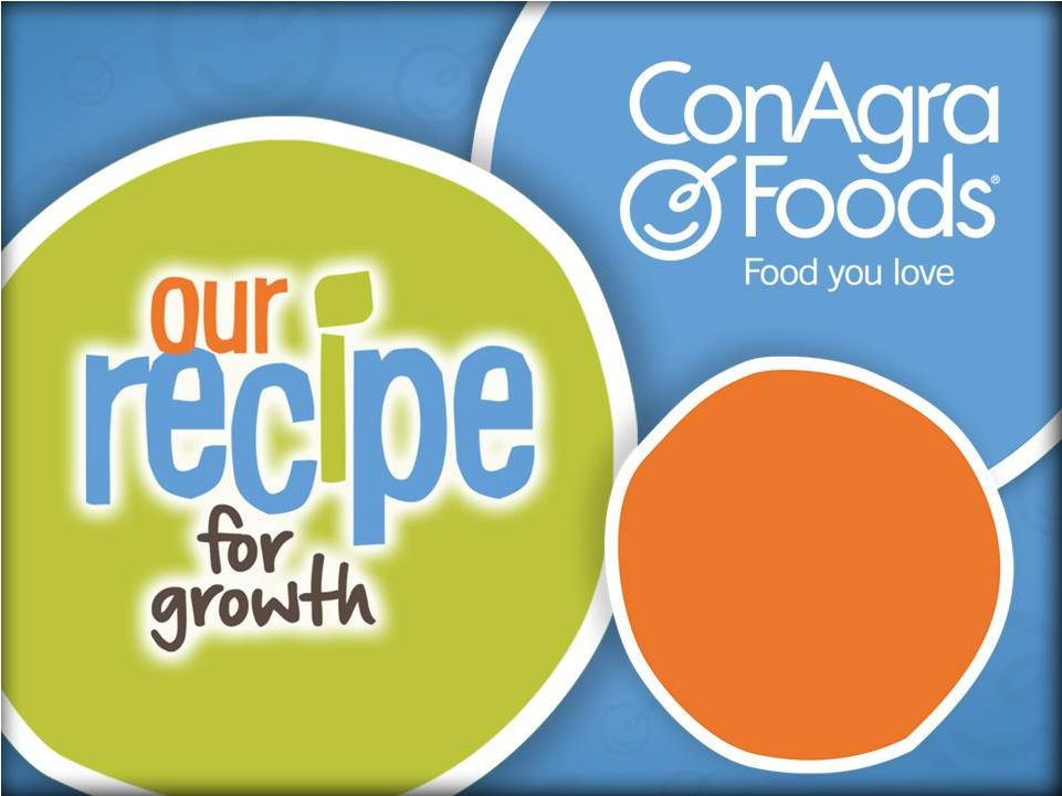 conagra foods essay Essays kraft case study with the previous conagra foodservice being merged with conagra food ingredients to form conagra foods commercial.
