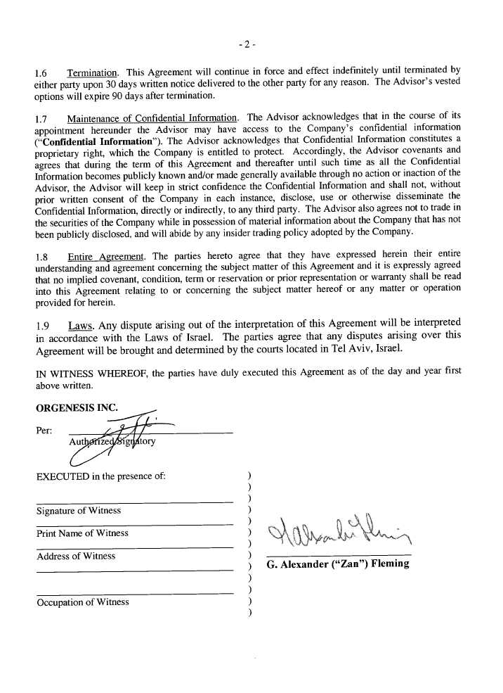 Consulting Service Agreement Master Agreement For Consulting