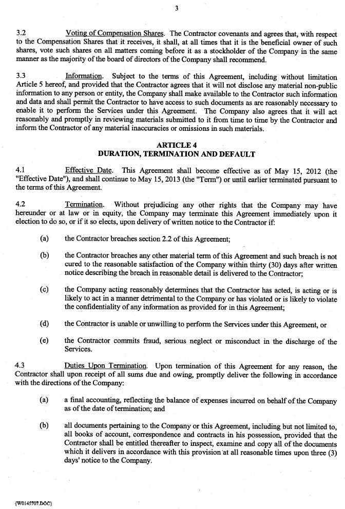 Management Consulting Agreement. Business Consulting Agreement 39+
