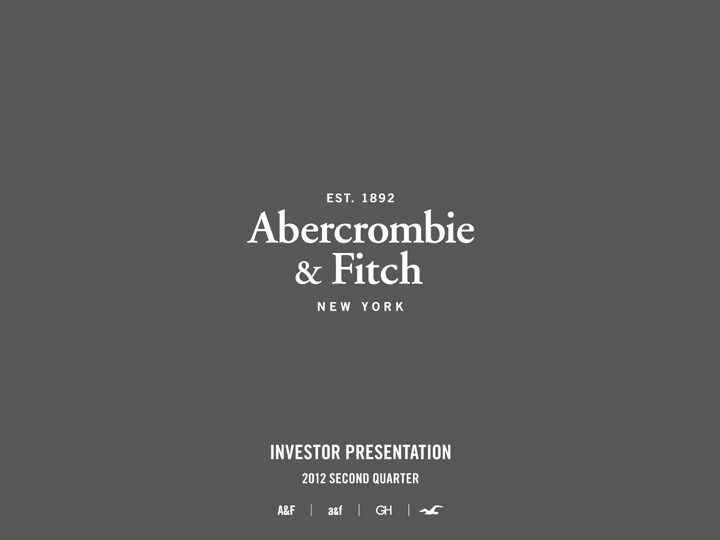 Abercrombie And Fitch Form Exhibit