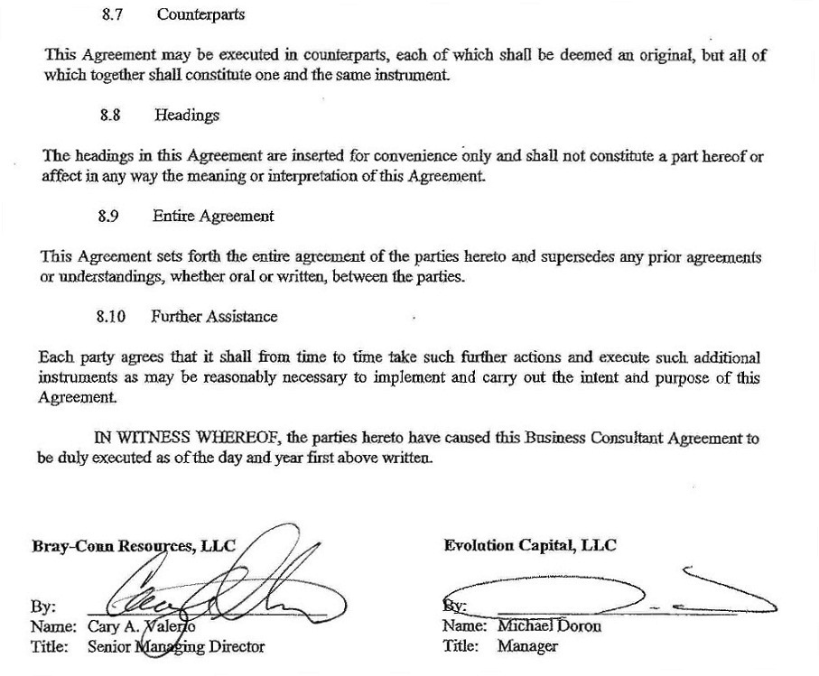 Consulting Agreement Examples