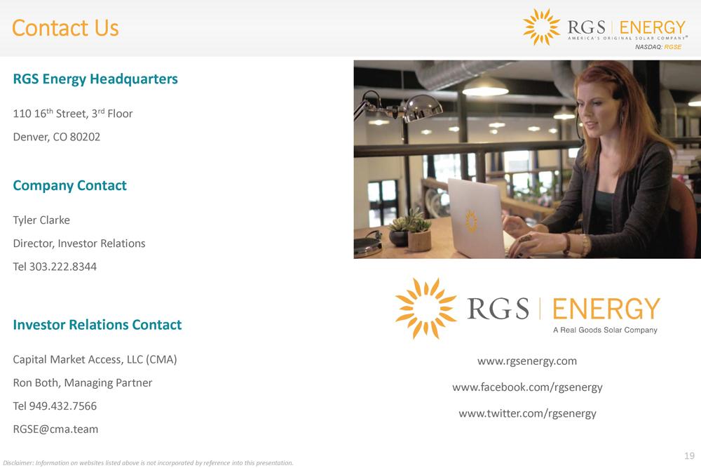 Real Goods Solar, Inc  - FORM 8-K - EX-99 1 - EXHIBIT 99 1 - March