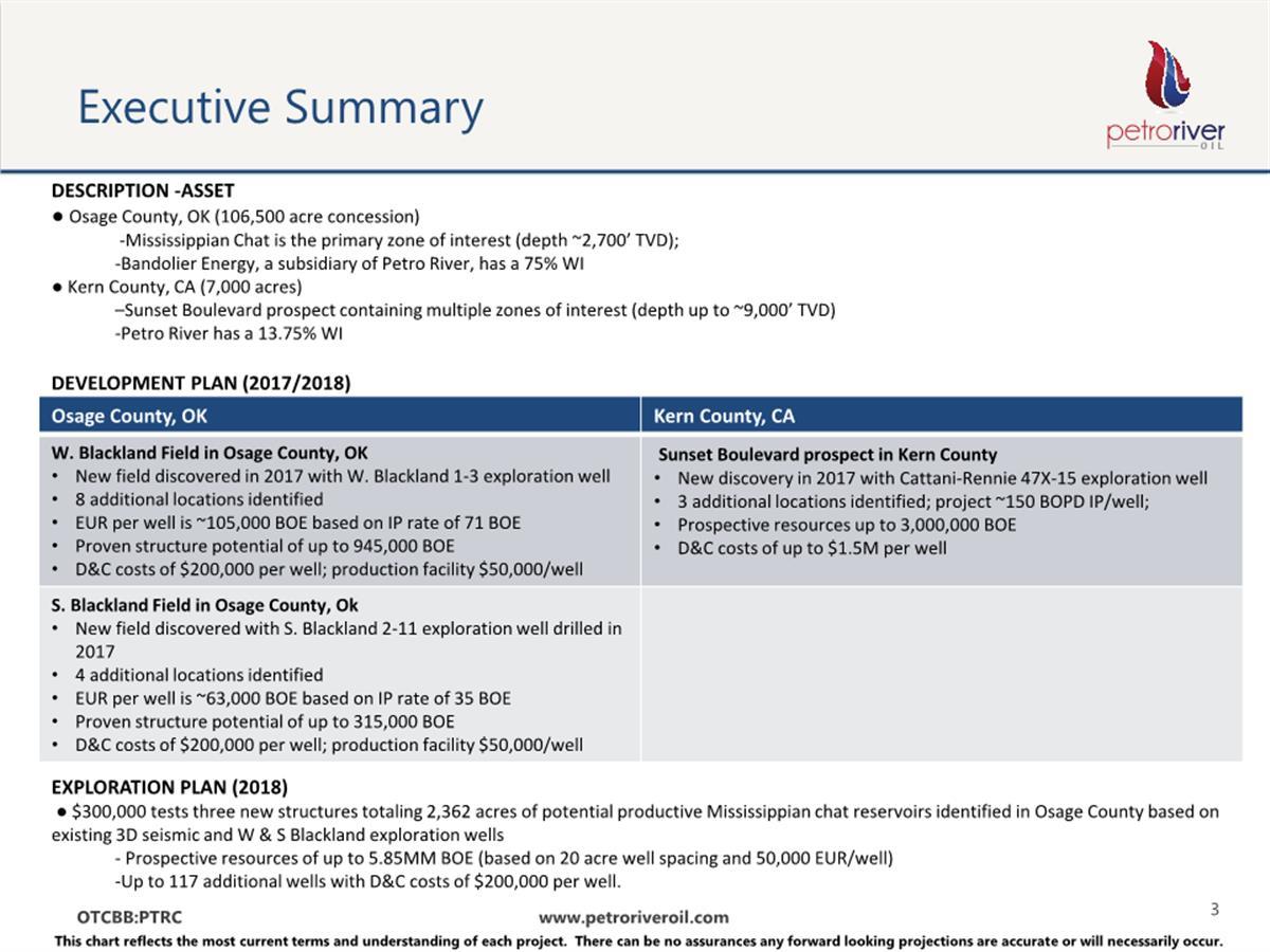 Petro River Oil Corp. - FORM 8-K - EX-99.2 - CORPORATE ...
